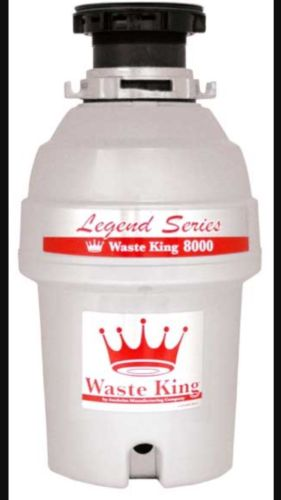 waste king l-8000 legend series 1.0-horsepower
