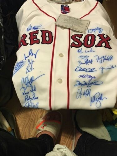 Boston Red Sox 2004 Team Signed Jersey