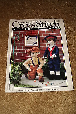 Cross Stitch: Cross Stitch & Country Crafts Magazine -March/Apr 1988