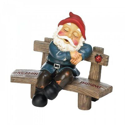 Dreaming And Wishing Gnome