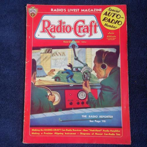 Radio Craft  Magazine June 1936