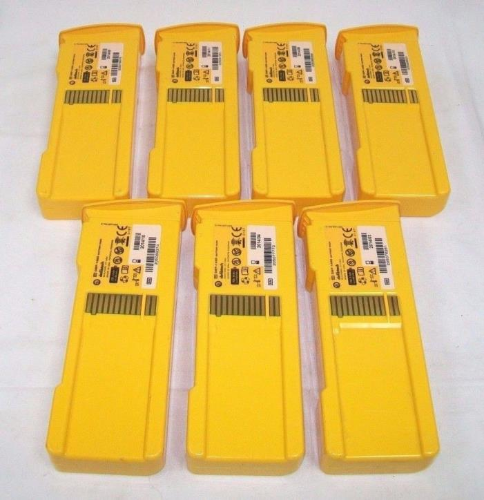 LOT OF 7 Defibtech DBP-1400 Battery Pack (2014)