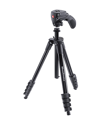 Manfrotto Compact Action Aluminum Tripod 61
