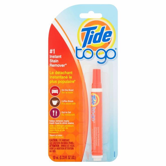 Tide To Go Instant Stain Remover Portable Pen Stick 0.33 OZ