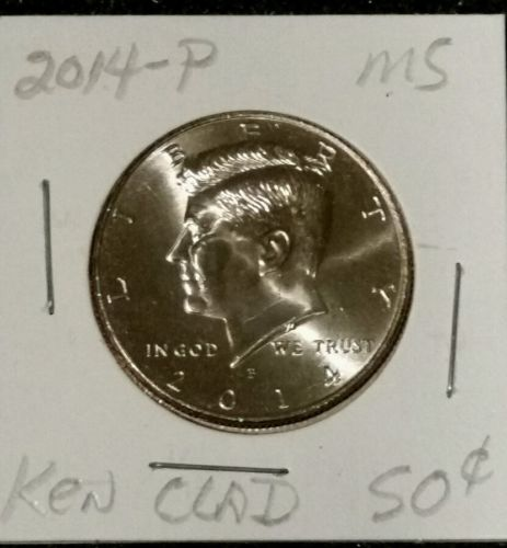 2014-P 50C MINT KENNEDY UNCIRCULATED HALF DOLLAR