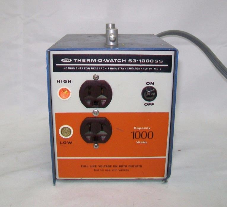 Therm-O-Watch S3-1000SS Temperature Controller
