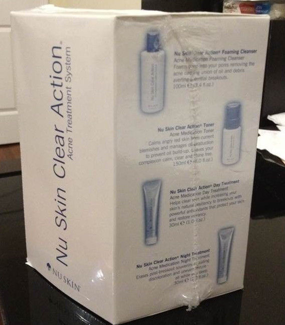 Nu Skin Clear Action Acne Medication System - FAST SHIPPING!