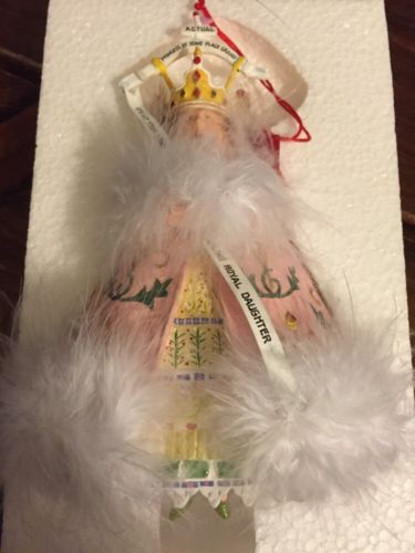 Patience Brewster Misplaced Princess Regal Lady Ornament Krinkles New