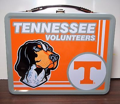 University of Tennessee Volunteers Metal Lunch Box With Thermos (Set) New In Box