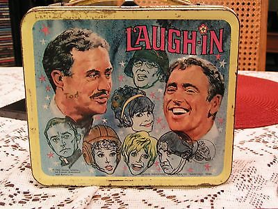 60's Vintage Laugh-in Lunch Box and Thermos