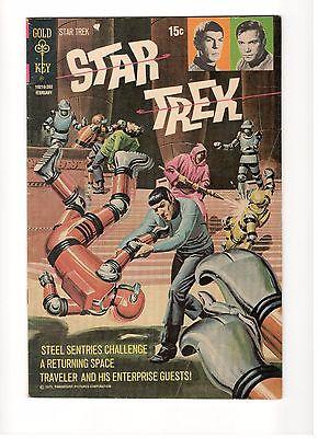 Star Trek #13 Gold Key  mid grade