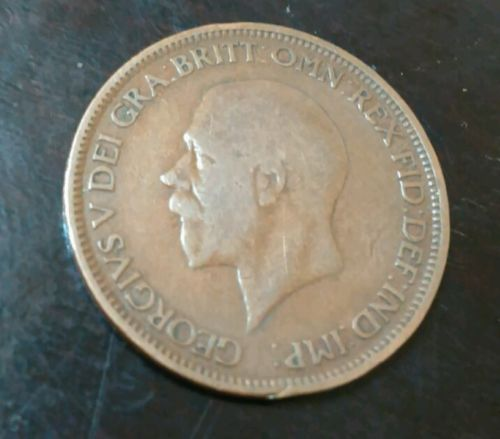 1928 Great Britain Half Penny (1/2d)