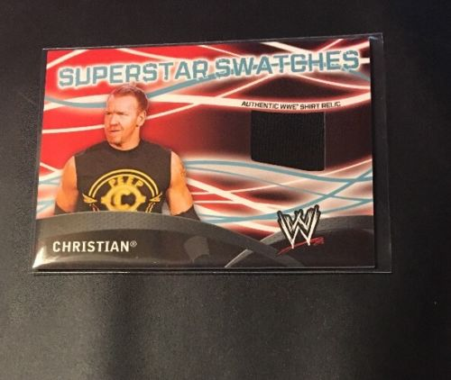 2011 Topps WWE Superstar Swatches Relic  CHRISTISN
