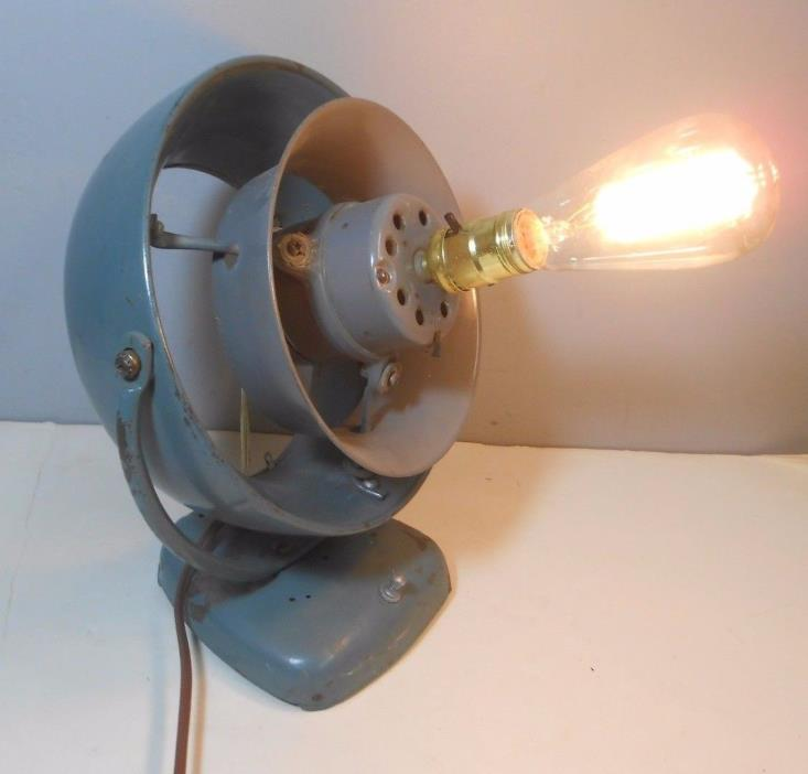 Vintage Vornado Fan Re-purposed as Light- O.A. Sutton Co.