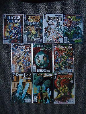 DC Comics Villains Comics Lot - Suicide Squad and more