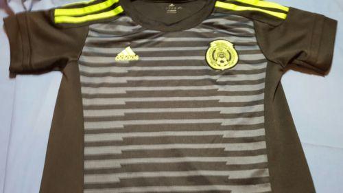 MEXICO youth size 6 Adidas soccer jersey Federacion Mexicana Futbol Club