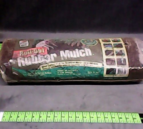 Easy Gardener roll out rubber mulch 2' x 6' ( 12 sq . ft) brown