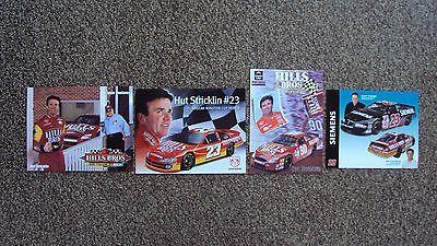 Lot of 4 different - Hut Stricklin #90 #23