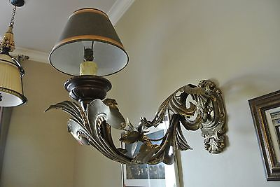 Ornate wall sconce-REDUCED!