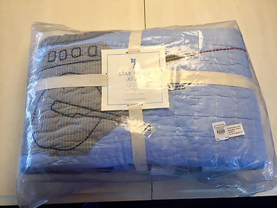 Pottery Barn Kids Star Wars AT-AT Quilt, Twin, Imperial Walker, RARE, NWT