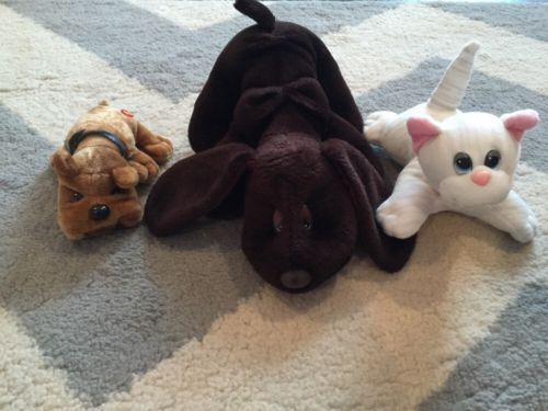 Vintage Pound Puppies Lot of Puppies and Kittens