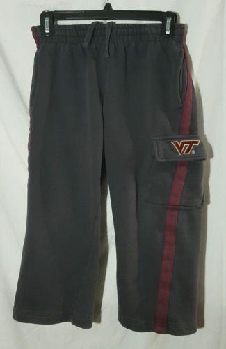 College Field House Boys Youth Small Virginia Tech HOKIES Sweatpants S (8-10)