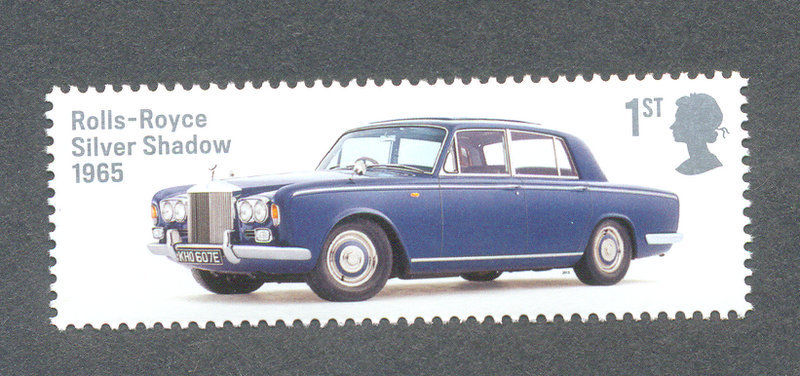 Great Britain Classic Cars Rolls Royce-Silver Shadow 1965