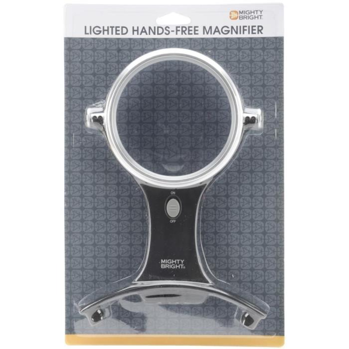 New Mighty Bright Lighted Hands Free Magnifier 4