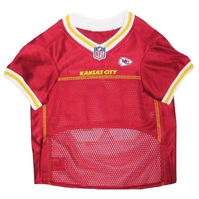 Pets First Kansas City Chiefs NFL Dog Jersey-Small KCJ-S NEW