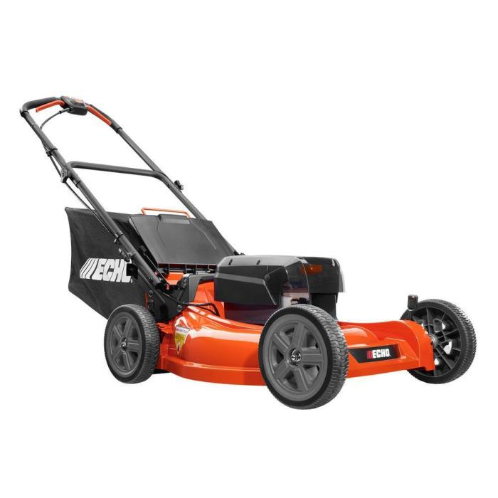 ECHO 21 in. 58-Volt Lithium-Ion Cordless Electric Walk Behind Push Lawn Mower