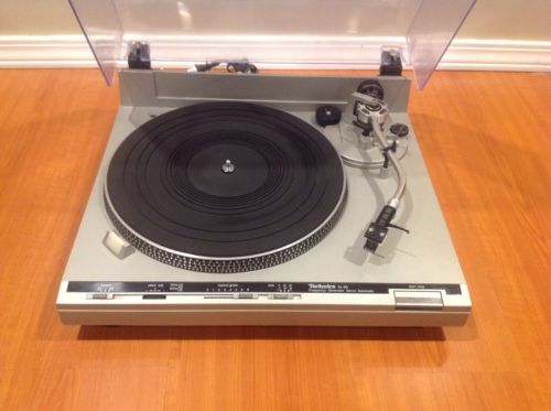 TECHNICS SL-B5 VINTAGE TURNTABLE FULLY TETSED AUDIO TECHNICA CARTRIDGE