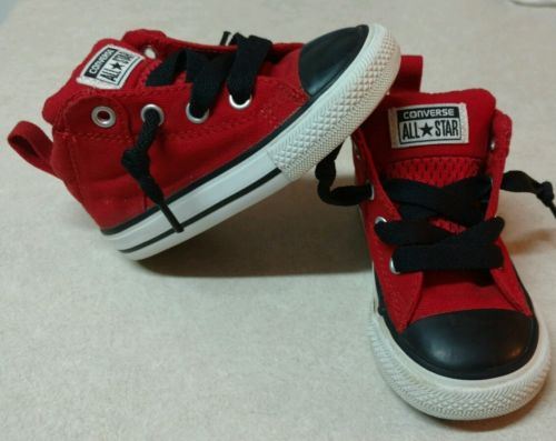 CONVERSE ALL STAR SHOES SIZE 6c TODDLER BOYS OR GIRLS SNEAKERS