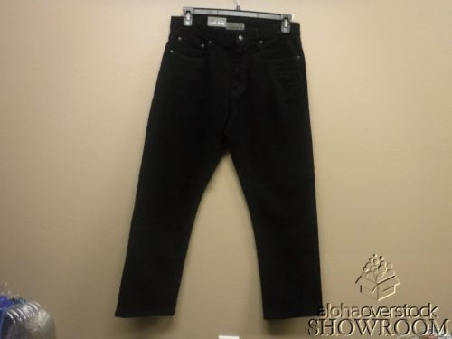 New Mens URBAN STAR Relax Fit Jeans Straight Leg Pants Stretch Black 34 X 30 NWT