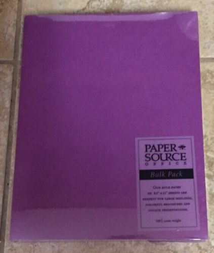 New Paper Source 8.5x11
