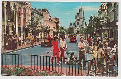 Classic Postcard Walt Disney World - Main Street U. S. A.