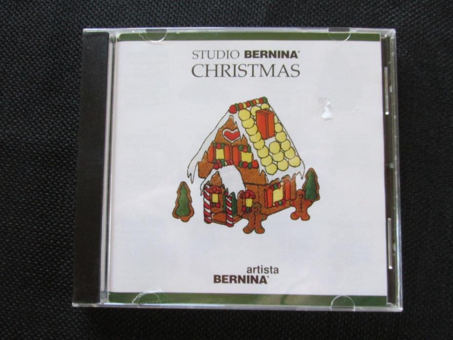 Studio Bernina Christmas Collection artista Embroidery Card Cartridge