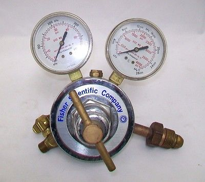 Fisher Scientific Company FS-50 Valve Pressure Regulator 60 & 4000 psi
