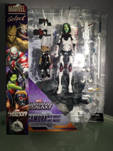 Marvel Select Guardians Of The Galaxy Gamora With Rocket