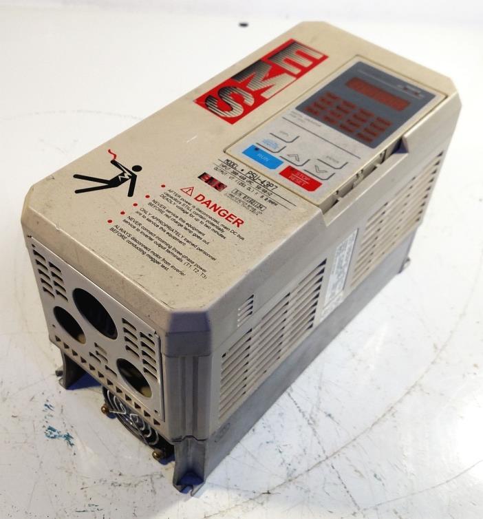 1 USED EMS CIMR-P5U43P7 AC DRIVE