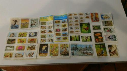 Vintage National Wildlife Federation/Conservation stamps lot 1976-1979