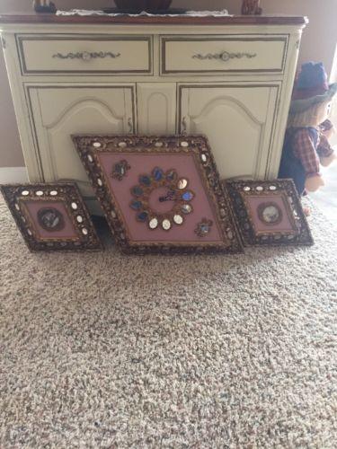 Antique Wall Clock Set
