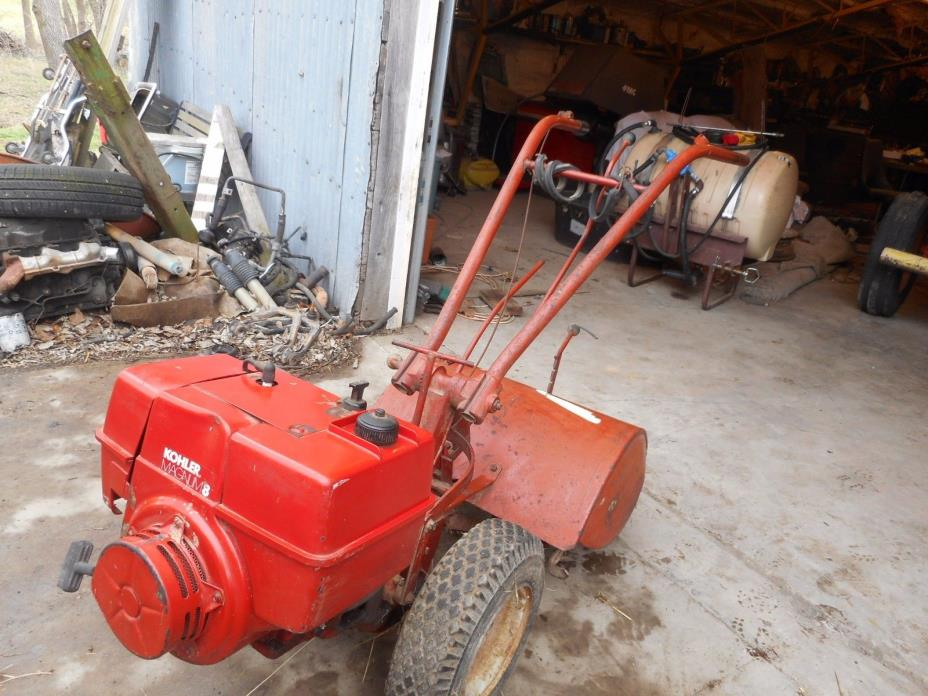 Troy Built Rear Tine Tiller with 8 HP Kohler Engine