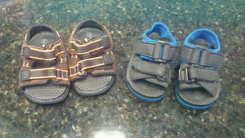 Baby boy sandals size 2