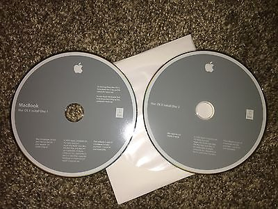 Apple MacBook 2006 Restore DVDs Mac OS X 10.4.6
