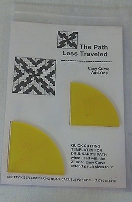 Rasy Curve Add-ons - Quick Cutting Templates for Drunkard's Path