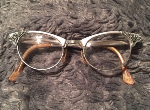 Vintage 1950s  Cat Eye Eyeglasses  Retro