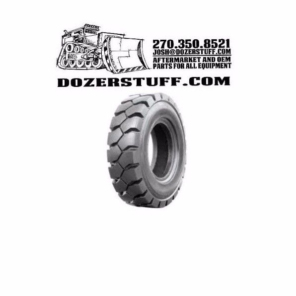 NEW 6.00x9 tires Galaxy solid yardmaster flat proof forklift 6.00-9 601041-33