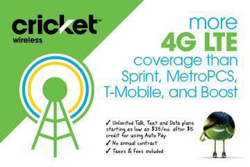 Tired of high phone bills and less data? Switch to Cricket and let us give you...