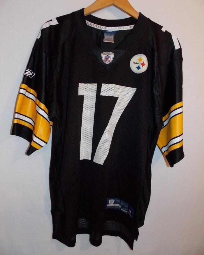 NFL Reebok Pittsburgh Steelers # 17 Wallace Jersey Size Medium