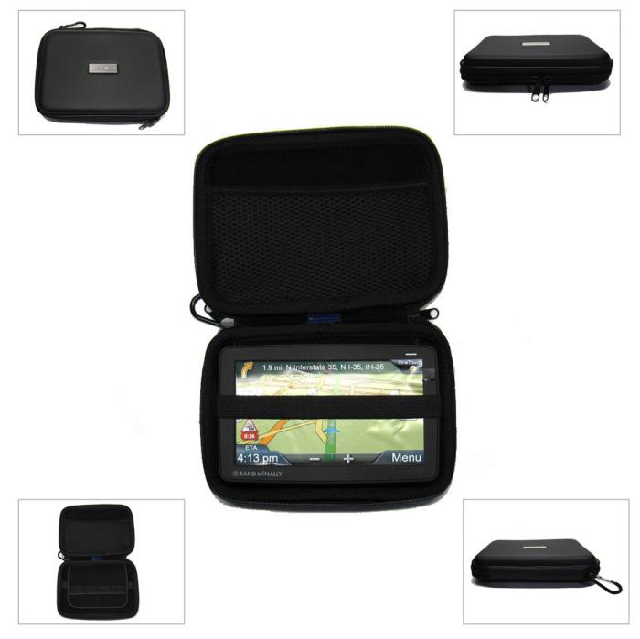 Rand McNally 7 Inch Hard Case For RoadExplorer Road Explorer 6 60 GPS - RMHC7